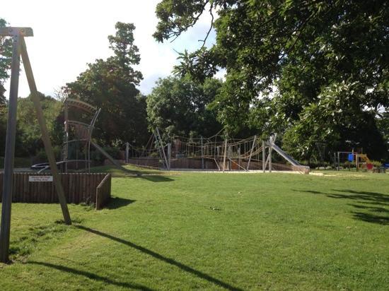 Chantry Park: Kids playground in the sun