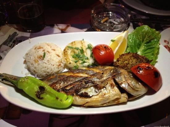 """Yemenli Restaurant: daurade """"fresh fish"""""""