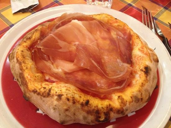 Pizzando Grigliando: pizza alta