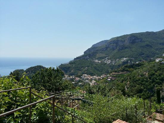 Villa Maria Hotel: view from balcony area