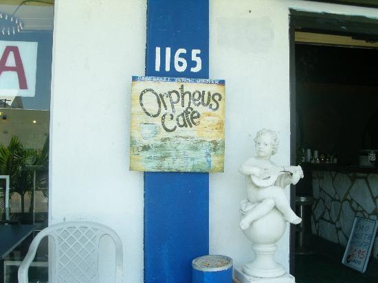 Orpheus Cafe Diner: Orpheus Entrance