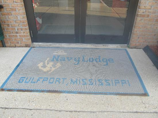 Navy Lodge Gulfport: mat