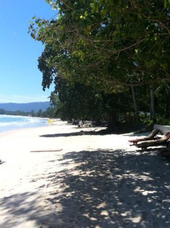 The Lipa Lovely Beach Resort: beach at the Lovely Lipa... the best on Samui
