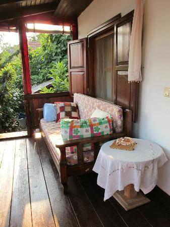 Simena Pansiyon: verandah