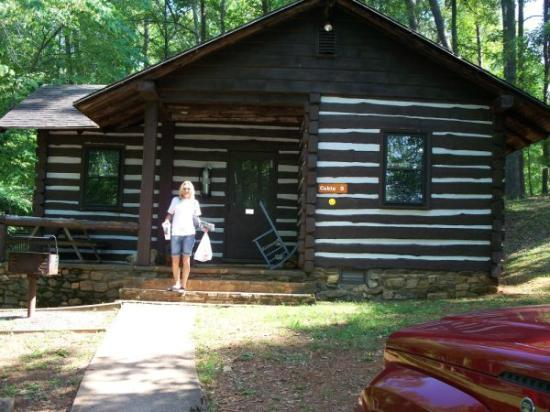 Fairy Stone State Park: Our Cabin