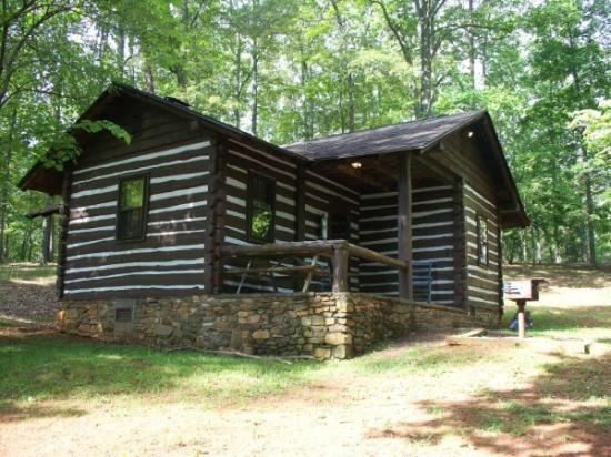 Fairy Stone State Park: another outside view of our cabin