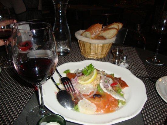 Vallauris, Frankreich: Dinner at Le Café du Coin