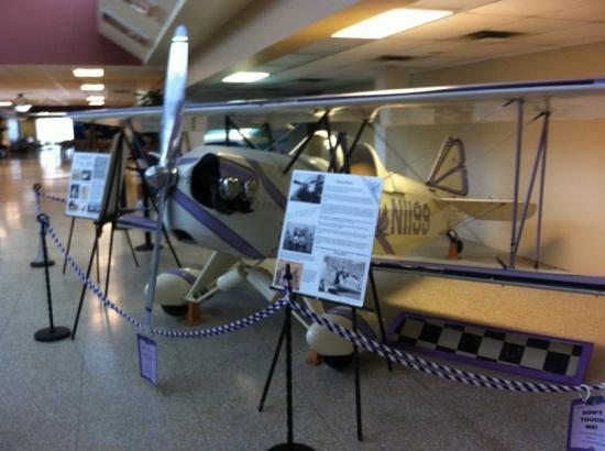 International Women's Air & Space Museum: The Pretty Purple Puddy Tat!