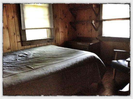 Sebago Lake Family Campground: Cottage #3 (Bedroom 1)