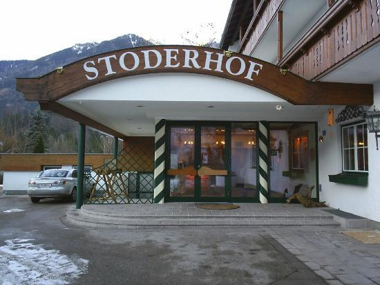 Hotel Stoderhof: Main Entrance of Hotel