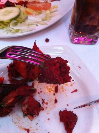 Wild Ginger:                                     dark red kebab