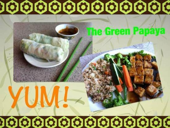 The Green Papaya - YUM!