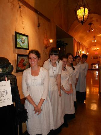 Our lovely servers.. - Picture of The St. James Tearoom ...