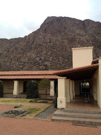 Vinas de Cafayate Wine Resort: view from outside our door