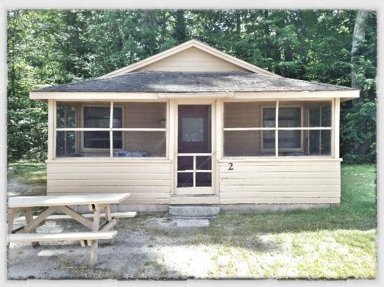 Sebago Lake Family Campground: Cottage #2