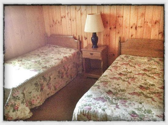 Sebago Lake Family Campground: Cottage #2 (Bedroom)