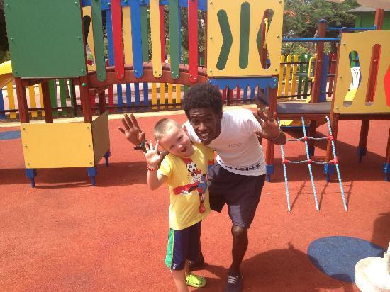 Tagoro Family & Fun Costa Adeje: Kieran and Tarik