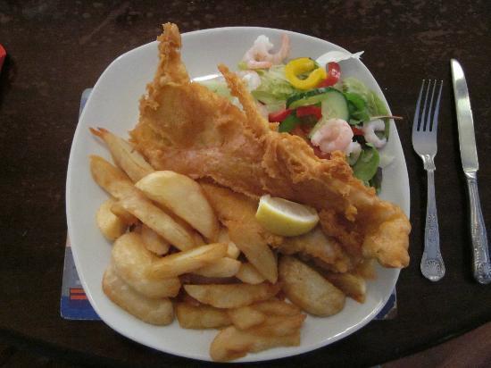 Clovelly Bay Inn : Fish & Chips