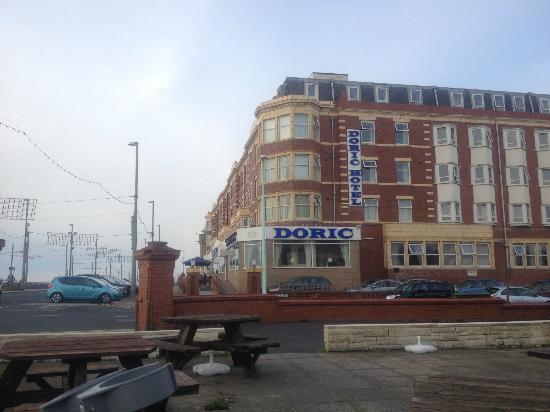 Doric Hotel: The Doric (this is a mirror image sorry!)