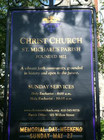 Tilghman Island: Historic Church