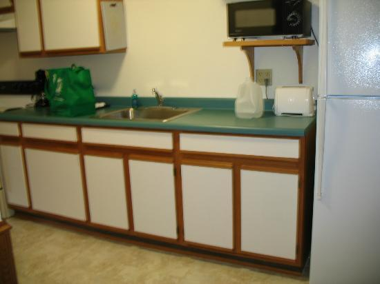 Cragun's Resort on Gull Lake: Kitchen in suite.
