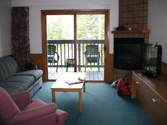 Cragun's Resort on Gull Lake : Suites' sitting room