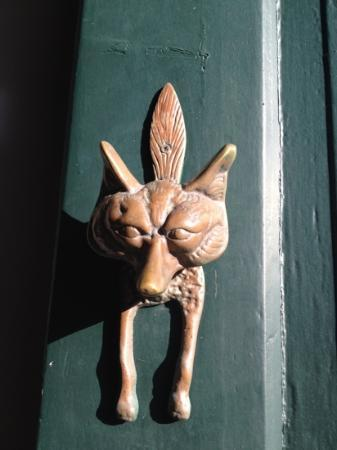 A Raposa: cutie door handle