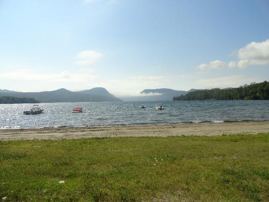 Lake Willoughby beach