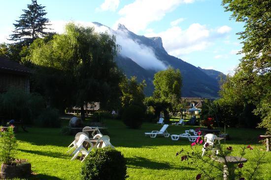 Hotel du Parc : jardin y vistas