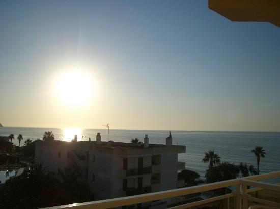 Protur Bonamar: sunrise from bedroom window