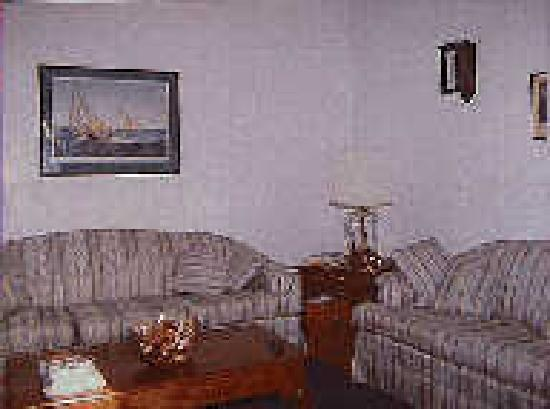 Chesapeake Inn of Lenox : Relax in our living room
