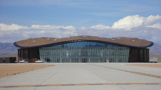 Spaceport America Shaped to blend in with mountains