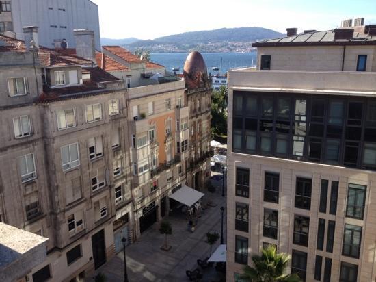Hotel America Vigo: vistas desde la habitación 603.