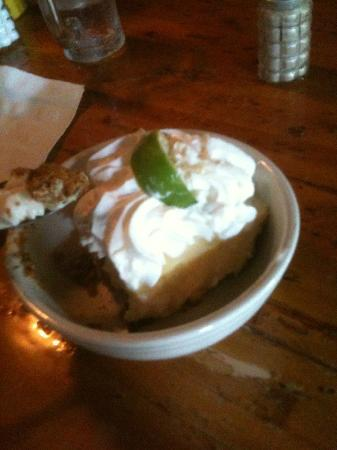 Pepe's Cafe: The Key Lime Pie wound up being our wedding cake!