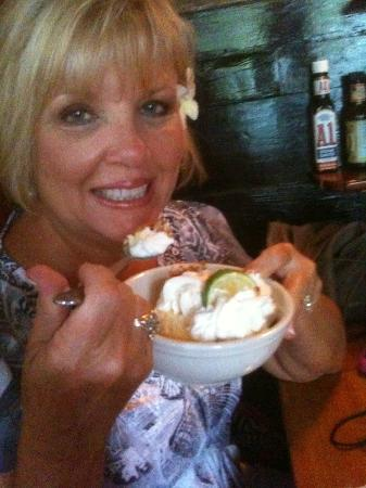 My bride loved the Key Lime Pie! - Picture of Pepe's Cafe, Key West ...
