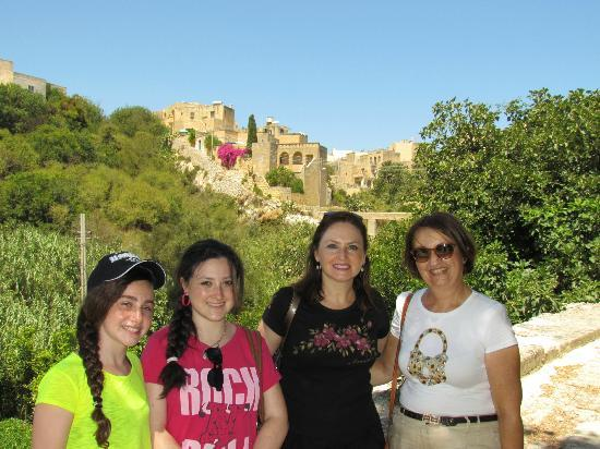 Amy's Guided Tours of Malta & Gozo - Tours : Amy (on the right) with my family
