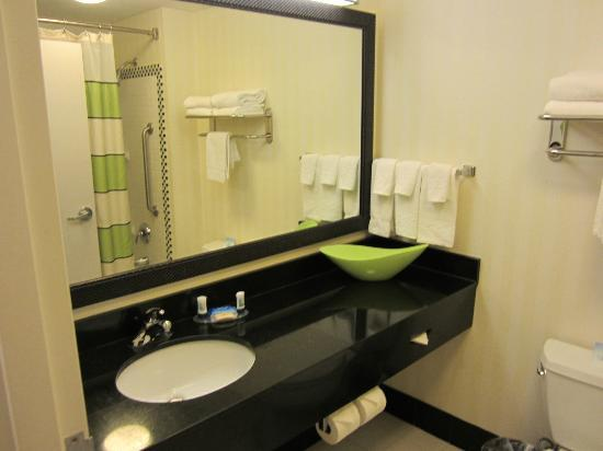 Fairfield Inn & Suites Miami Airport South: sdb
