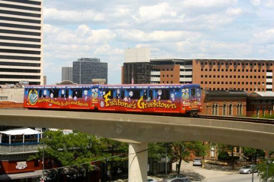Bricktown Station Picture Of Detroit People Mover
