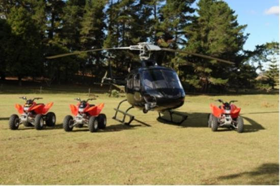 4 Track Adventures: Flew out in a helicopter!!!! FUARRKK YEAA