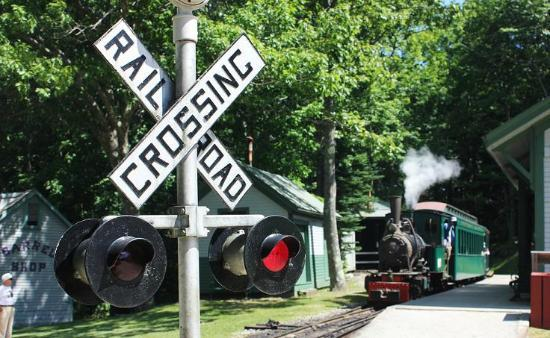 Boothbay Railway Village: fun train