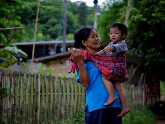 Akha Village Chiang Rai Province