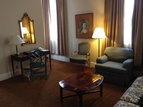 The Lafayette Hotel: classic grandeur