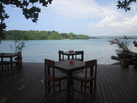 Turtle Bay Lodge: Dining deck