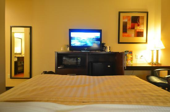 La Quinta Inn & Suites JFK Airport: TV, microwave, fridge