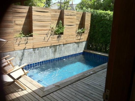 Tango Luxe Beach Villa: Plunge pool