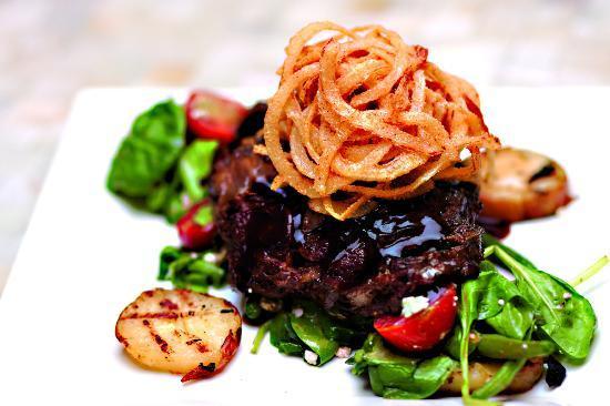 Britt's Island Grill: korean steak