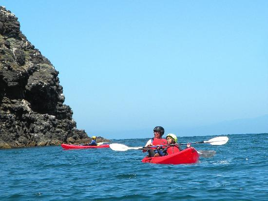 Paddle Sports Center : Kayaking with the Channel Island Outfitters