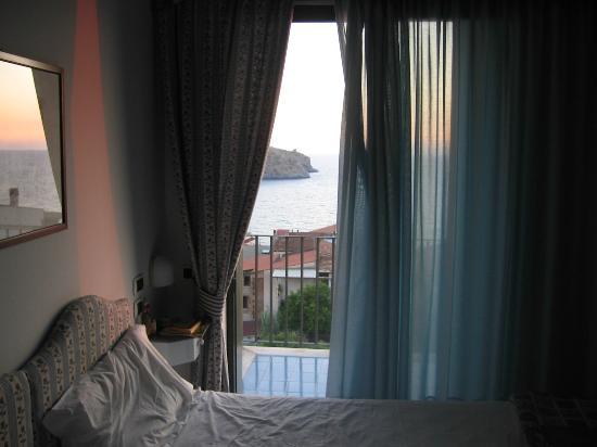 Hotel Santa Caterina : dal letto