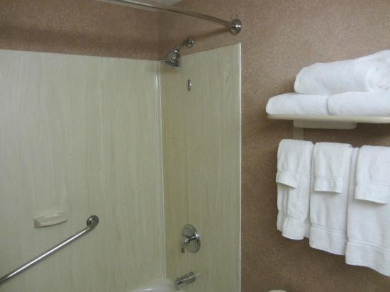 Holiday Inn Canmore: Bathroom