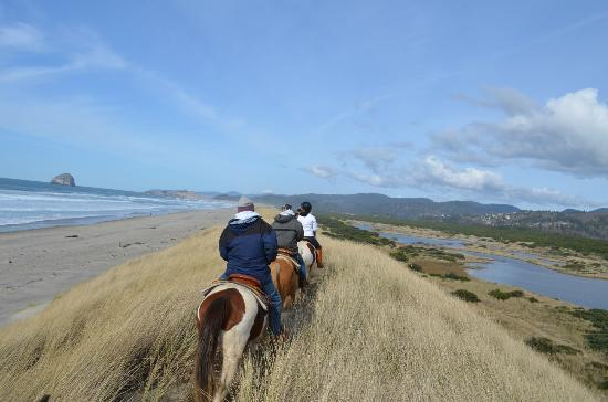 Green Acres Beach & Trail Rides: ridge